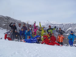 1101合宿スキー